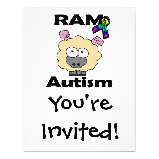 RAM-Autismus Individuelle Ankündigungen