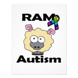 RAM-Autismus Personalisierte Einladungen