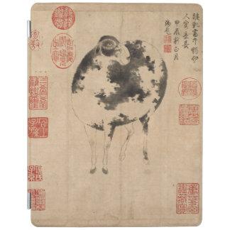 RAM-chinesische Malerei für Neujahrsfest-Tierkreis iPad Hülle