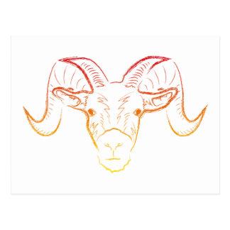RAM-Illustration Postkarte