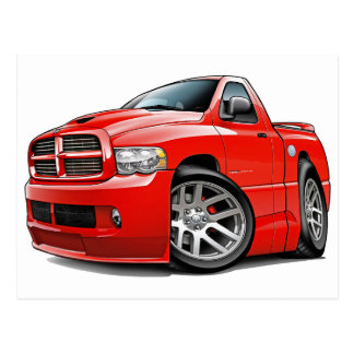 RAM-Rot des Dodge-SRT10 Postkarte