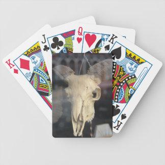 RAM-Schädel cool Bicycle Spielkarten