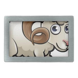 RAM-Vieh-Cartoon-Charakter Rechteckige Gürtelschnallen