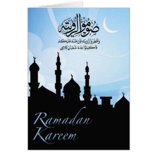 Ramadan-Gruß-Karte Karte