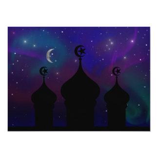 Ramadan-Himmels-Einladung 14 X 19,5 Cm Einladungskarte