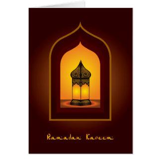 Ramadan Kareem Karte