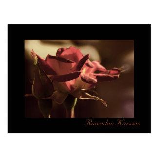 Ramadan Kareem - Rosenpostkarte Postkarte