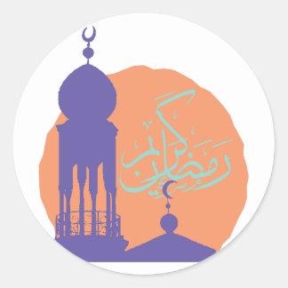 Ramadan Runder Aufkleber