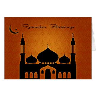 Ramadan-Segen Grußkarte