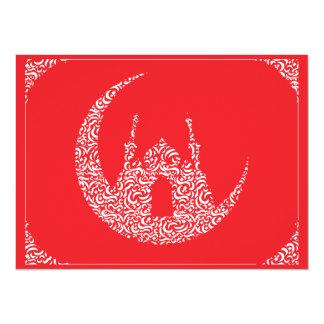 Ramadan u. Eid al-Fitr Mubarak grüßen2 14 X 19,5 Cm Einladungskarte