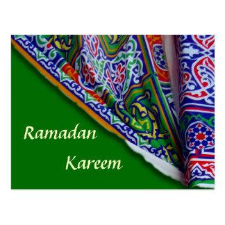 Ramadan-Zelt-Postkarte Postkarte