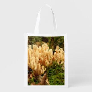 Ramaria stricta Pilz-wiederverwendbare Tasche Wiederverwendbare Einkaufstasche