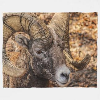 RAMbighorn-Tier-Fleece-Decke Fleecedecke