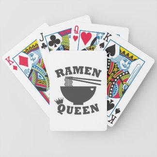 Ramen-Königin Bicycle Spielkarten