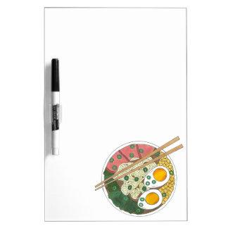 Ramen-Nudel-Schüssel-japanischer Memoboard