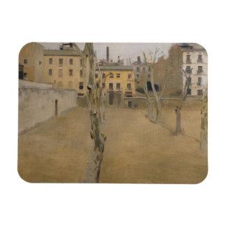 RamonCasas - Hof des alten Barcelona-Gefängnisses Magnet