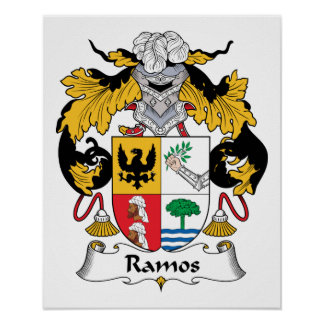 Ramos-Familienwappen Poster