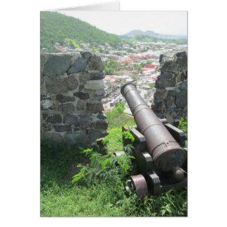 Rampart-Kanonen-Fort Louis Karte