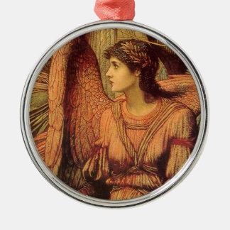 Ramparts des Hauses des Gottes durch Strudwick Silbernes Ornament