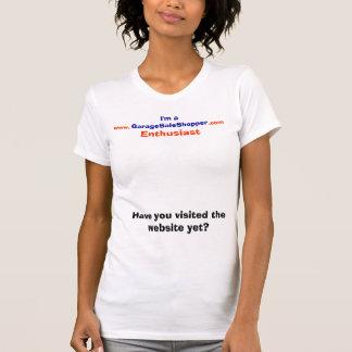 Ramschverkauf-Käufer-Enthusiast-T-Shirt T-Shirt
