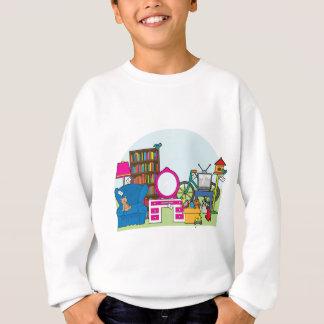 Ramschverkauf-Material Sweatshirt
