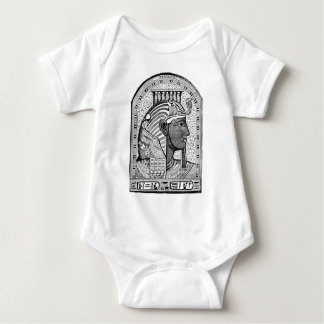 "Ramses III mit ""kleinem König "" Baby Strampler"