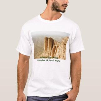 Rand der Welt, Königreich von Saudi-Arabien T-Shirt