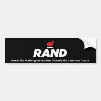 Rand Paul 2016 Autoaufkleber