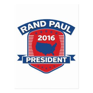 Rand Paul 2016 Postkarte