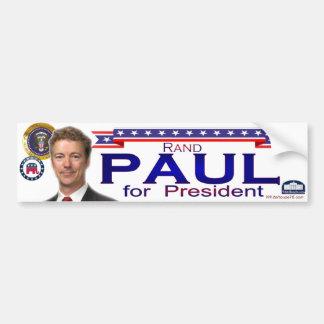 Rand Paul für Präsidenten Autoaufkleber