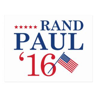 Rand Paul für Präsidenten Postkarte