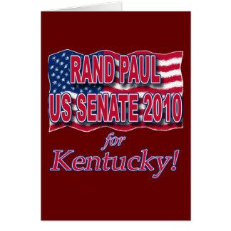 Rand Paul für T-Shirts und Knöpfe des Senats-2010 Karte