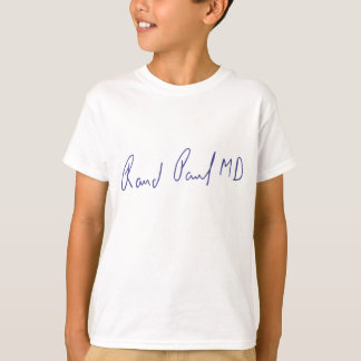 Rand-Paul MD-Unterzeichnungs-Autogramm T-Shirt