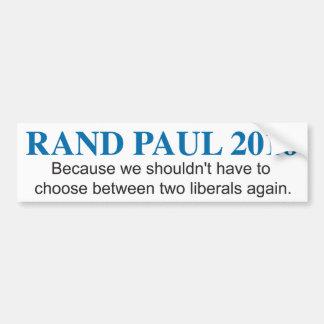 Rand-PaulAutoaufkleber 2016 Autoaufkleber