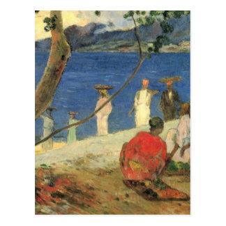 Rand von Meer - Paul Gauguin Postkarte