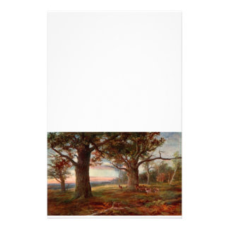 Rand von Sherwood Forest Briefpapier