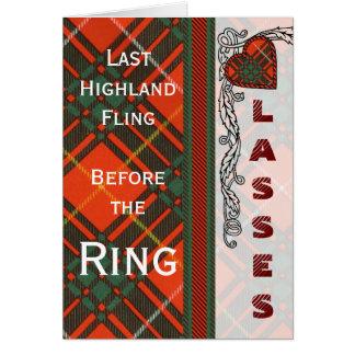 Randolph-Clan karierter schottischer Kilt Tartan Karte