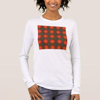 Randolph-Clan karierter schottischer Kilt Tartan Langarm T-Shirt
