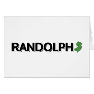 Randolph, New-Jersey Karte