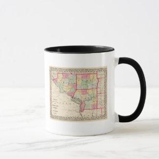 Randolph, Perry, Jackson-Landkreise Tasse