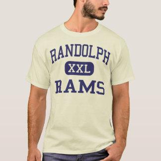 Randolph rammt Sekundarschule Randolph Kansas T-Shirt