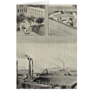 Randolph u. Clowes, Waterbury Karte