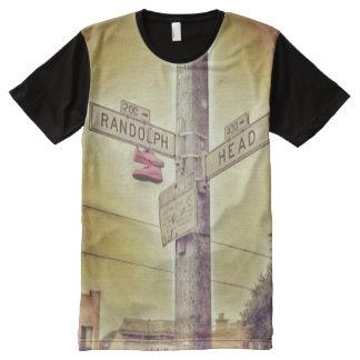 Randolph-u. Kopf-St. San Francisco T-Shirt Mit Bedruckbarer Vorderseite