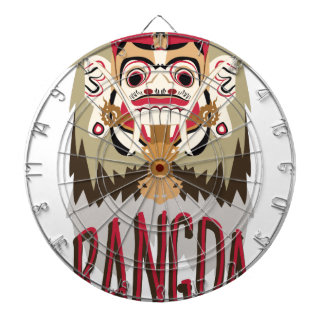 Rangda Dartscheibe