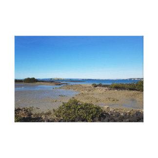 rangitoto Insel Neuseeland Leinwanddruck