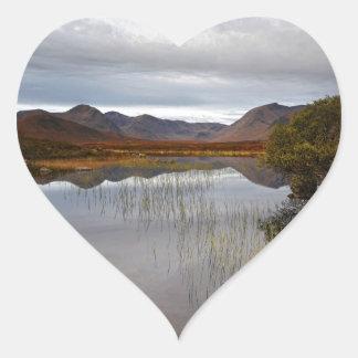 Rannoch machen, Schottland fest Herz-Aufkleber