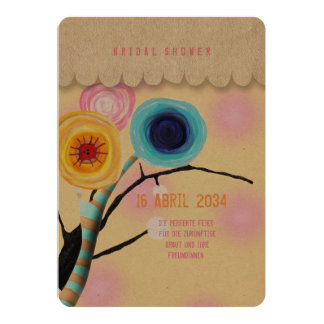 Ranunculus Boutonniere 12,7 X 17,8 Cm Einladungskarte