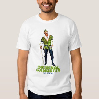 Rap-Couture-Robin Hood ursprünglicher Gangster-T - Shirts