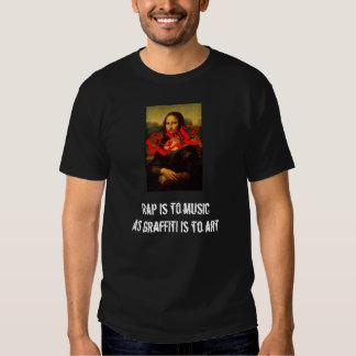 RAP ist zur Musik T Shirts