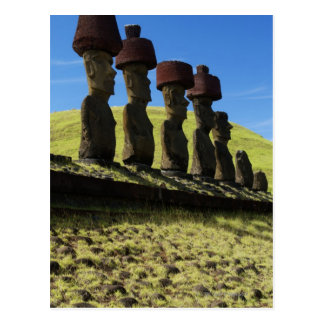 Rapa Nui Artefakte, Osterinsel Postkarten